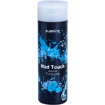 Subrina Professional Mad Touch coloration intense sans ammoniaque ni activateur Azoure Tourquise 200 ml