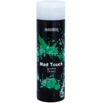 Subrina Professional Mad Touch coloration intense sans ammoniaque ni activateur Iguana Green 200 ml
