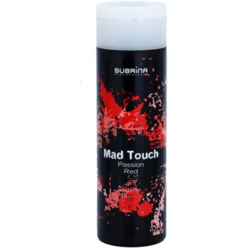 Subrina Professional Mad Touch coloration intense sans ammoniaque ni activateur Passion Red 200 ml