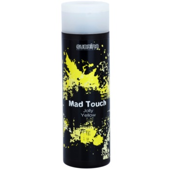 Subrina Professional Mad Touch coloration intense sans ammoniaque ni activateur Jolly Yellow 200 ml