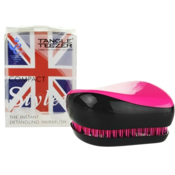 Tangle Teezer Compact Styler brosse à cheveux (Pink Sizzle Instant Detangling Hairbrush)