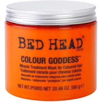 TIGI Bed Head Colour Goddess masque pour cheveux colorés (Miracle Treatment Mask for Coloured Hair) 580 g