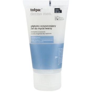 Tołpa Dermo Men gel nettoyant en profondeur visage (Hypoallergenic) 50 ml