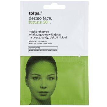 Tołpa Dermo Face Futuris 30+ masque revitalisant effet hydratant (Hypoallergenic) 2 x 6 ml