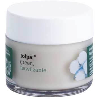 Tołpa Green Moisturizing crème apaisante yeux Cotton, Iris (Hypoallergenic) 17 ml