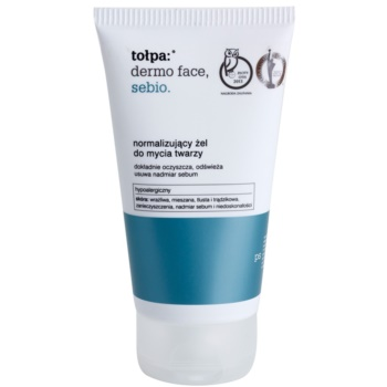 Tołpa Dermo Face Sebio gel nettoyant pour peaux grasses (Hypoallergenic) 150 ml