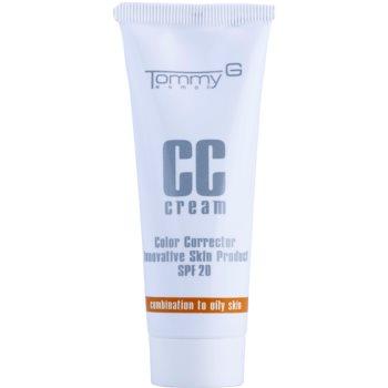 Tommy G CC Cream CC crème hydratante pour peaux mixtes à grasses SPF 20 teinte 1 35 ml