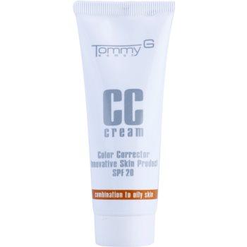 Tommy G CC Cream CC crème hydratante pour peaux mixtes à grasses SPF 20 teinte 3 35 ml