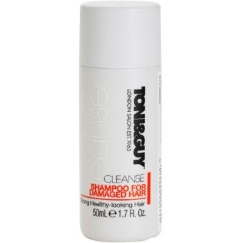 TONI&GUY Cleanse shampoing pour cheveux abîmés (Shampoo for Damaged Hair) 50 ml