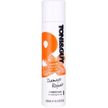 TONI&GUY Nourish après-shampoing pour cheveux abîmés (Conditioner for Damaged Hair Intense Moisture & Shine) 250 ml