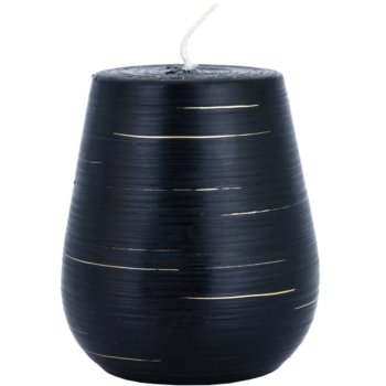 Unipar Nordlys Steep Line Black bougie décorative 427 g  (Cone 90 - 100)