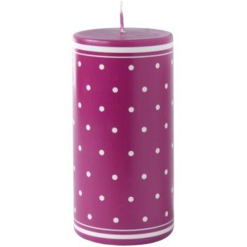 Unipar Retro Pink bougie décorative 280 g  (Pillar 60 – 120)