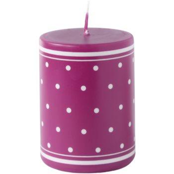 Unipar Retro Pink bougie décorative 200 g  (Pillar 60 – 80)