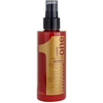Uniq One All In One cure régénérante pour tous types de cheveux (All in One Hair Treatment) 150 ml
