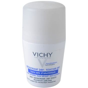 Vichy Deodorant déodorant roll-on pour peaux sensibles (24Hr Deodorant Dry Touch) 50 ml