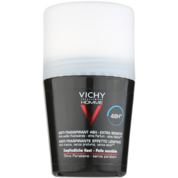 Vichy Homme Déodorant déodorant roll-on sans parfum 48h (Anti-Perspirant Deodorant, Sensitive skin) 50 ml