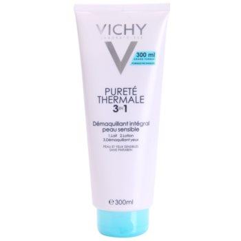 Vichy Pureté Thermale émulsion démaquillante 3 en 1 (Démaquillant Intégral Peaux Sensibles) 300 ml