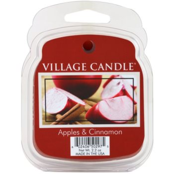 Village Candle Apple Cinnamon tartelette en cire 62 g