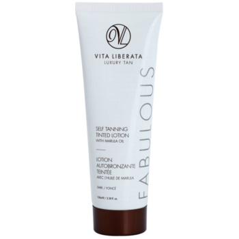 Vita Liberata Fabulous crème teintée auto-bronzante (Dark) 100 ml