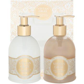 Vivian Gray Romance Sweet Vanilla coffret cosmétique I.
