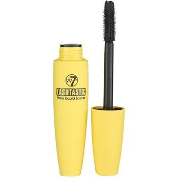 W7 Cosmetics Lashtastic mascara cils volumisés et épais teinte Blackest Black 15 ml