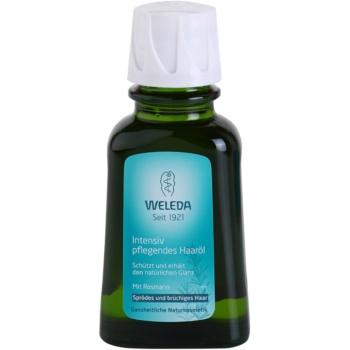 Weleda Rosemary huile cheveux pour des cheveux plus forts et plus brillants 50 ml