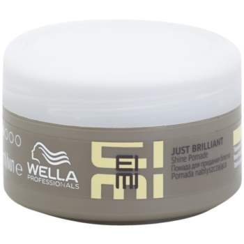 Wella Professionals Eimi Just Brilliant pommade pour des cheveux brillants et doux Hold Level 1 (Formulated to Help Protect Hair Against Humidity.) 75 ml