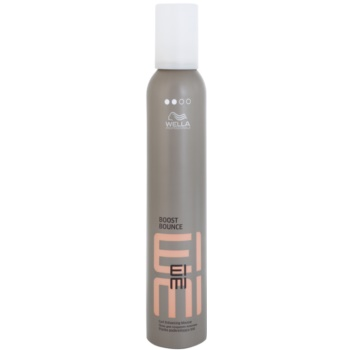 Wella Professionals Eimi Boost Bounce mousse fixante pour cheveux bouclés Hold Level 2 (Formulated to Help Protect Your Hair Against Dehydration while Blow Drying) 300 ml