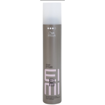 Wella Professionals Eimi Stay Styled spray fixateur pour cheveux Hold Level 3 (Formulated to Help Protect Hair from the Effects of Humidity, UV and Heat) 300 ml