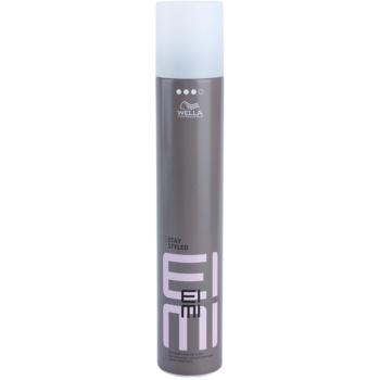Wella Professionals Eimi Stay Styled spray fixateur pour cheveux Hold Level 3 (Formulated to Help Protect Hair from the Effects of Humidity, UV and Heat) 500 ml