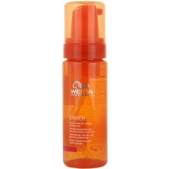 Wella Professionals Enrich mousse cheveux pour cheveux bouclés (Bouncy Foam) 150 ml