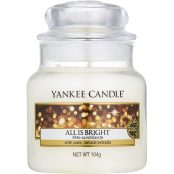 Yankee Candle All is Bright bougie parfumée 105 g Classic petite