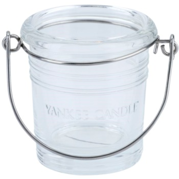 Yankee Candle Glass Bucket porte-bougie votive en verre    (Pure)