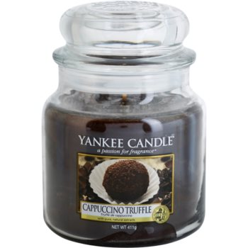Yankee Candle Cappuccino Truffle bougie parfumée 411 g Classic moyenne