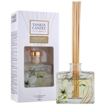 Yankee Candle Fluffy Towels diffuseur d'huiles essentielles avec recharge 88 ml Signature