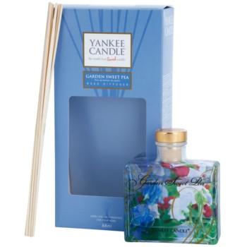 Yankee Candle Garden Sweet Pea diffuseur d'huiles essentielles avec recharge 88 ml Signature