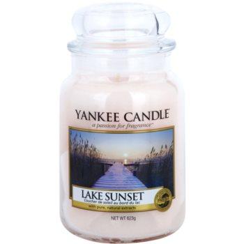 Yankee Candle Lake Sunset bougie parfumée 623 g Classic grande