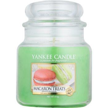 Yankee Candle Macaron Treats bougie parfumée 411 g Classic moyenne