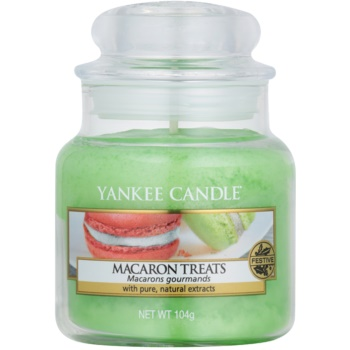 Yankee Candle Macaron Treats bougie parfumée 104 g Classic petite