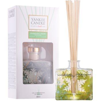 Yankee Candle Sparkling Snow diffuseur d'huiles essentielles avec recharge 88 ml Signature
