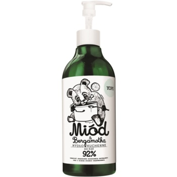 Yope Honey & Bergamot savon naturel cuisine mains (Antibacterial and Anti Odor) 500 ml