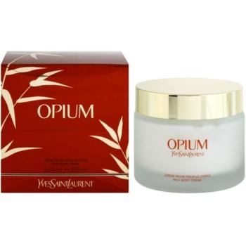 Yves Saint Laurent Opium 2009 crème corps pour femme 200 ml