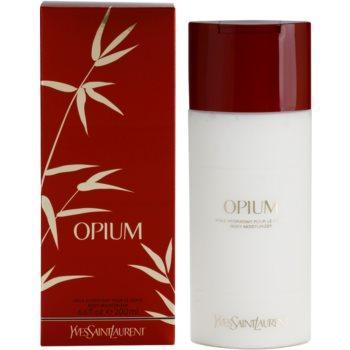 Yves Saint Laurent Opium 2009 lait corps pour femme 200 ml
