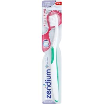 Zendium Sensitive brosse à dents extra soft Green (With 0,01 mm Thin Bristles)