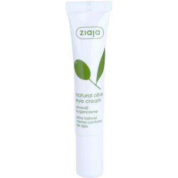 Ziaja Natural Olive crème yeux à l'extrait d'olives 15 ml