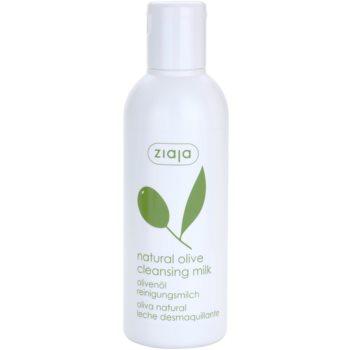 Ziaja Natural Olive lait démaquillant à l'extrait d'olives (Cleansing Milk) 200 ml