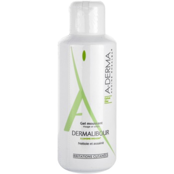 A-Derma Dermalibour gel in schiuma per pelli irritate (Gel Moussant) 125 ml
