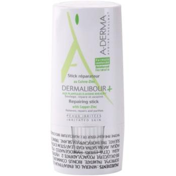A-Derma Dermalibour+ stick rigenerante per pelli irritate (Repairing Stick) 8 g