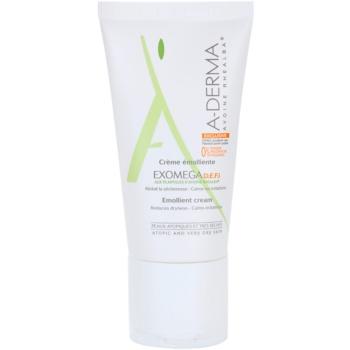 A-Derma Exomega crema per per pelli molto secche, sensibili e atopiche D.E.F.I (Emollient Cream) 50 ml