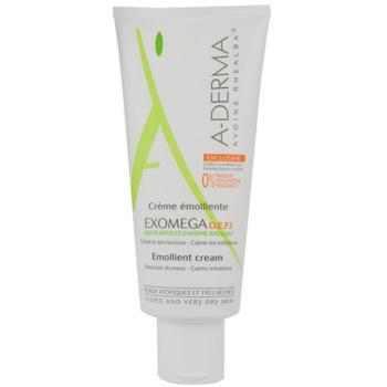 A-Derma Exomega crema per per pelli molto secche, sensibili e atopiche D.E.F.I (Emollient Cream) 200 ml